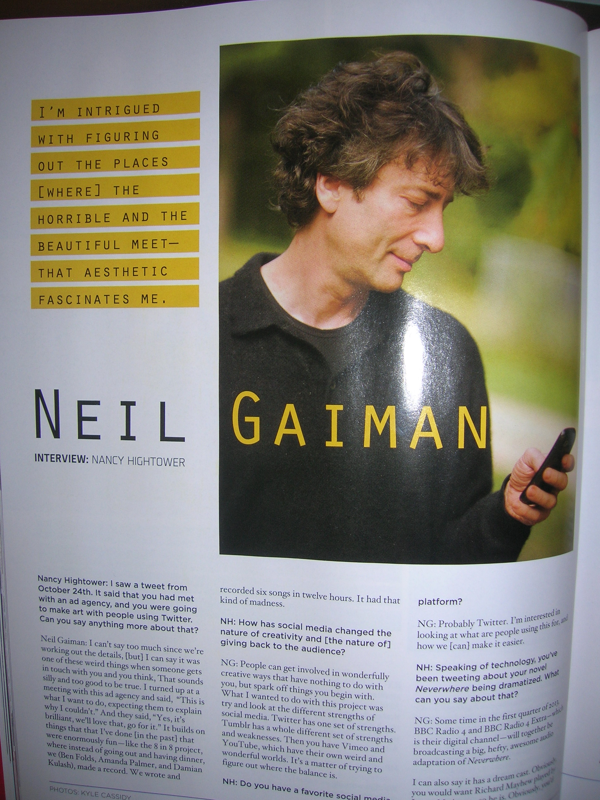Neil G. Interview