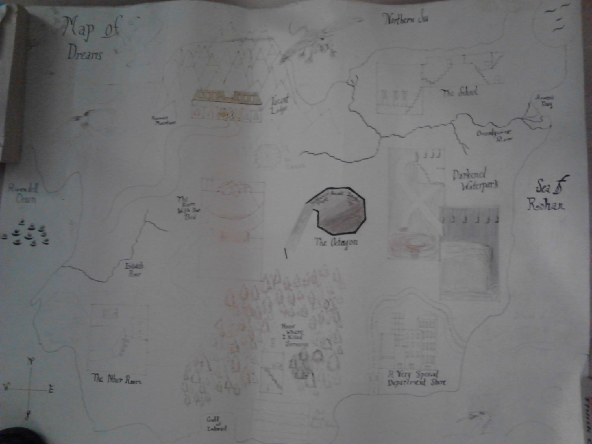 Merea map